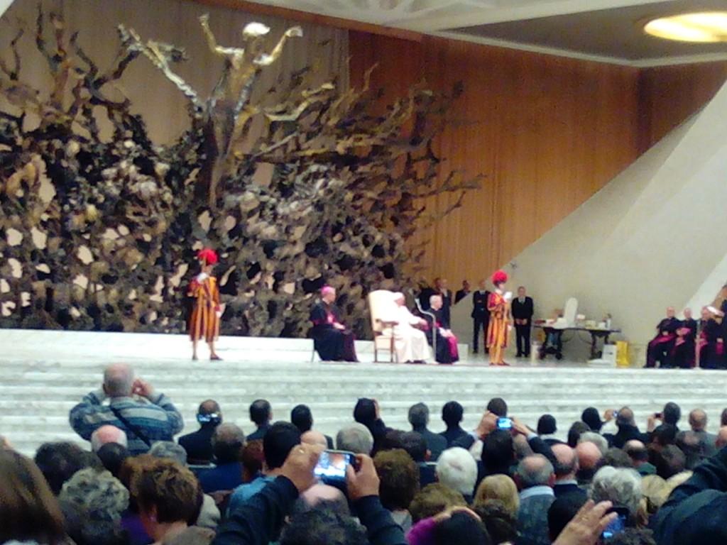 Audienta Famiglia Paolina – Papa Francesco